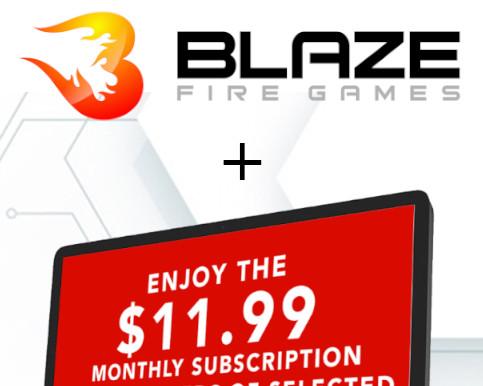 Blaze Fire AGI Woo Logo 483